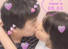 Cô gái 17 tuổi khoe nụ hôn và nhẫn cưới bên người yêu U60, gia đình đã đồng ý và vun vén chuyện sớm yên bề gia thất