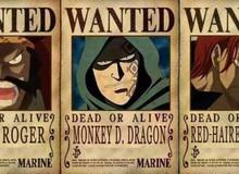 """One Piece: Trong khi các Tứ Hoàng đều có mức truy nã trên 4 tỷ, thì của """"người đàn ông nguy hiểm nhất thế giới"""" Dragon là bao nhiêu?"""