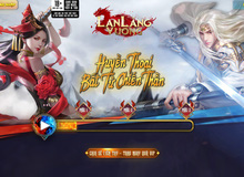 Lan Lăng Vương Mobile ra mắt trang chủ, MMORPG hấp dẫn trong tháng 10
