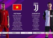 Bản mod chỉnh sửa khuôn mặt Văn Hậu, Văn Lâm trong PES 2020, cho phép trực tiếp điều khiển ĐTQG Việt Nam thi đấu