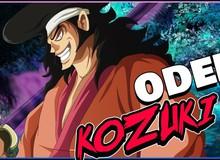 """One Piece: Hé lộ quá khứ """"bất hảo"""" của cựu lãnh chúa Kozuki Oden, hóa ra lại là người chuyên đi """"dụ dỗ"""" vợ người khác"""