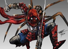 Choáng ngợp với loạt fan art siêu anh hùng Marvel theo phong cách trung cổ pha chút ma mị