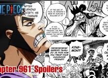 One Piece 961: Oden dùng song kiếm hạ Sơn Thần... và bị cha trục xuất khỏi Hoa Đô