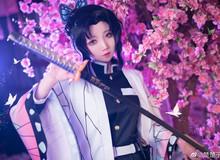 Trùng trụ Kochou Shinobu thoát tục tựa tiên nữ qua loạt ảnh cosplay đẹp mê hồn