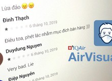 Đại diện AirVisual: Chúng tôi gỡ app vì bị quá nhiều người Việt đánh giá 1*
