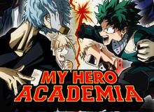 """My Hero Academia xuất sắc giành giải """"manga hay nhất"""" tại Harvey Awards"""