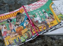 Ra mắt siêu phẩm artbook One Piece Color Walk 7 – Tyrannosaurus: Cùng băng Mũ Rơm tiến vào Tân Thế Giới!