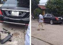 """Hà Nội: Đi xe điện tông thẳng vào """"Biệt thự di động"""" Maybach s400, thanh niên còn bắt đền ngược chủ xe"""