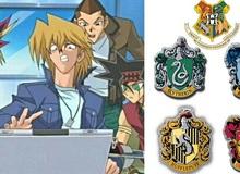 Các nhân vật Yu-Gi-Oh! sẽ gia nhập nhà nào trong trường Hogwarts khi xuyên không qua thế giới Harry Potter (P.1)
