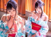 Thiếu nữ xinh đẹp khoe đôi gò bồng đảo quyến rũ tại nhà tắm suối nước nóng
