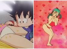 """Dragon Ball: Phát tán ảnh """"mát mẻ"""" của Bulma và những hành động """"khó"""" chấp nhận của Goku"""