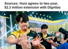 LMHT: Bị loại sớm khỏi CKTG 2019, Huni vẫn ở lại Dignitas với bản hợp đồng mới trị giá 53 tỷ