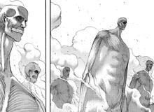 """Attack on Titan: Kích thước khổng lồ của đội quân Titan trong Tường thành vừa được Eren """"triệu hồi"""""""