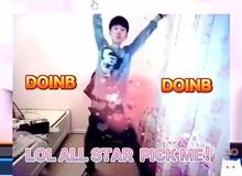 'Liêm sỉ gì tầm này': Bị TheShy vượt mặt, Doinb nhảy 'khiêu gợi' trên stream kêu gọi fan vote cho mình tại All-Star
