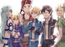 10 tấm fan art tuyệt đẹp xung quanh những câu chuyện và nhân vật của Sword Art Online