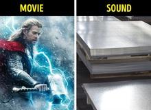 """Cách tạo ra âm thanh sấm sét của Thor và những hiệu ứng đặc biệt mà chỉ có """"người trong nghề"""" mới biết về các bộ phim bom tấn Hollywood"""