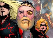 Tin sốc: Captain Marvel hắc ám vừa... vặt đầu của thần Thor?