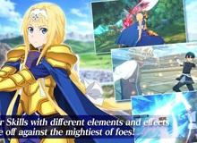 Sword Art Online xuất hiện phiên bản di động RPG cực đỉnh