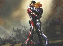 Mãn nhãn khi ngắm những mẫu thiết kế ban đầu của bộ giáp Rescue Armor trong Avengers: Endgame