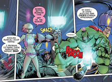 Marvel Comics: Gwenpool ném búa Thor... vỡ háng của Hulk?