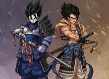 Ngỡ ngàng khi ngắm dàn nhân vật Dragon Ball hiện lên cực ngầu và bảnh trong trang phục Samurai Nhật Bản