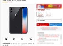 Cẩn trọng với các loại iPhone X 'hàng bãi' mới đổ về Việt Nam giá rẻ chỉ hơn 9 triệu đồng