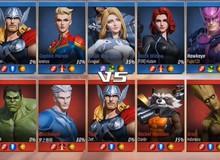 Kho tướng của MARVEL Super War được phát triển dựa trên... 8000 nghìn nhân vật siêu anh hùng