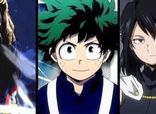 My Hero Academia: Chủ sở hữu của One For All và 5 anh hùng mạnh nhất hiện nay