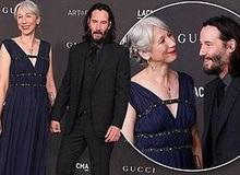 """Sau nhiều thập kỷ đơn độc, """"ông Kẹ"""" Keanu Reeves chính thức công khai bạn gái ở tuổi 55"""