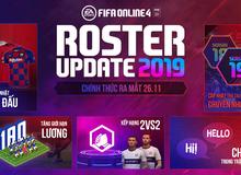 FIFA Online 4 công bố Roster Update 2019 với hàng loạt tính năng thú vị
