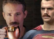 """Thánh bựa Deadpool bày trò troll """"bộ râu công lý"""" của Superman"""