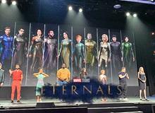 Marvel hé lộ tạo hình chính thức của Eternals, tuyên bố đây sẽ là phần phim tái định nghĩa lại MCU trong tương lai