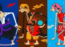 Naruto và đồng bọn bị biến thành con rối mang đậm phong cách văn hóa Nhật Bản