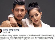 Ngân 98 xác nhận lộ clip nóng, Lương Bằng Quang nhanh chóng chính thức lên tiếng