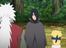 Boruto tập 136: Sau tất cả, ký ức về cuộc hội ngộ trong quá khứ của Jiraiya và Naruto đã bị xóa