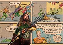 Có thể bạn chưa biết: Siêu anh hùng Aquaman thực ra có thể bay?