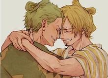 """One Piece: Chán cà khịa, bộ đôi quái vật của băng Mũ Rơm bất ngờ """"anh anh em em"""""""