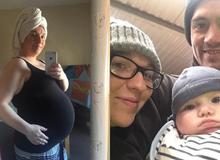 Bác sĩ bảo vô sinh, cô gái trẻ đẻ luôn con trai nặng 3,6 kg