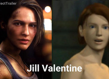 Sau 20 năm, nhân vật và đồ họa của phiên bản Resident Evil 3 Remake đã thay đổi như thế nào với bản gốc?
