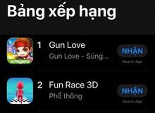 Chưa đầy 24h ra mắt đã Top 1 App Store, Gun Love liệu có thể phá vỡ vị thế độc tôn của Gun Gun Mobile?