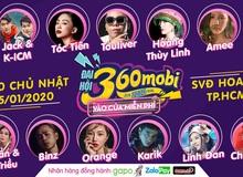 """Đại hội 360mobi 2020: Hoàng Thùy Linh, Karik và hàng loạt sao lớn của showbiz Việt """"đổ bộ"""" sự kiện Game đầu năm mới"""