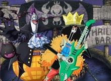 """One Piece: Hé lộ hình dạng trái ác quỷ """"cực dị"""" của Brook và Gecko Moria"""
