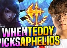"""(Video Vietsub) Teddy quẩy tung rank Hàn với tướng mới Aphelios, khẳng định """"Tướng này lỗi nặng"""""""