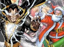 DC Comics: Black Adam đòi va chạm với ông già Noel để... đòi quà?