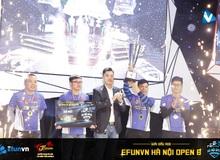EFUNVN Hà Nội Open 8 Championship: Nỗ lực và thời khắc nâng cao chiếc Cup!