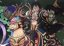 One Piece: Mãn nhãn trước hình ảnh băng Mũ Rơm tại Trung Quốc, Luffy thành Hoàng Thượng, Robin hóa Đát Kỷ