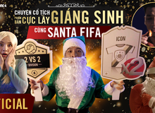 Santa FIFA bất ngờ trở lại trong clip mới nhất của FIFA Online 4