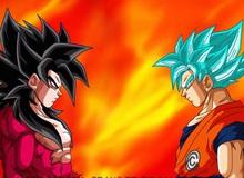 Dragon Ball: So sánh sức mạnh của Goku khi ở trạng thái Super Saiyan God và Super Saiyan 4