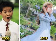 Sau 13 năm, 'con trai Châu Tinh Trì' đã thành thiếu nữ xinh đẹp với nụ cười tỏa nắng