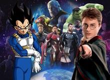 Harry Potter, Vegeta và những nhân vật nổi tiếng từng xuất hiện trong vũ trụ Marvel và DC